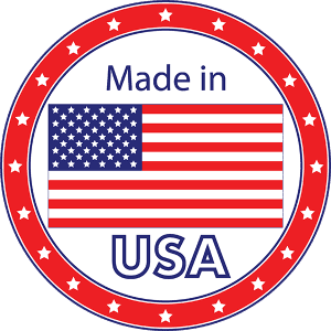 Made in the USA transparent 300x300 - Return Policy and Warranty
