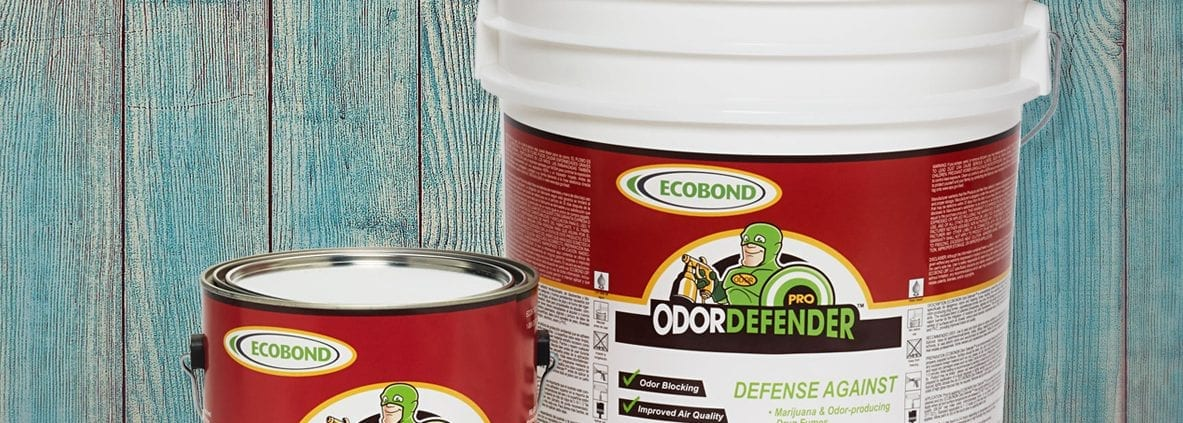 OdorDefender WoodBackground 1183x423 - ECOBOND® Paint LLC, Announces Their New Environmental Specialty Paint, OdorDefender™ for Smoke Odor Removal, has Been Selected by Home Depot to be Carried in their Online Store