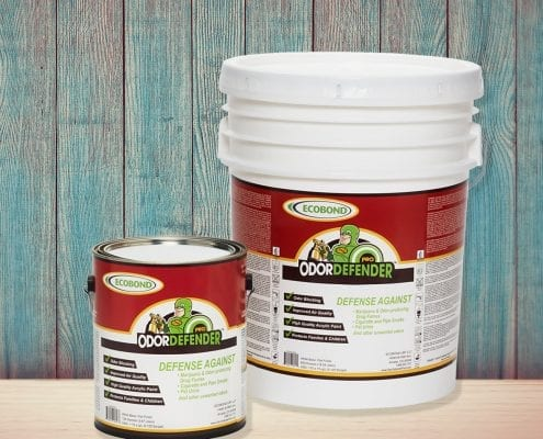 OdorDefender WoodBackground 495x400 - Do you worry that smoke and odors from tobacco, pot, and pet odors, will collect on your walls to cause significant long-term health risks to your family?